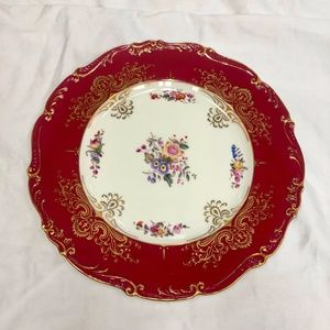 Vintage Coalport Bone China Plate